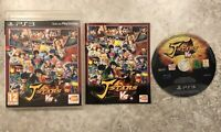 J Stars Victory Vs + Sony Playstation 3 PS3 Game Complete *Italian Case*