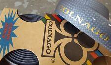 COLNAGO Bar Tape (NEW) Embossed Road Bike Handlebar LIMITED GREY GOLD CARBON New