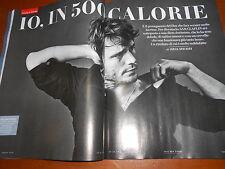 Vanity Fair.Sam Claflin,Ricchi e Poveri,Enrico Brignano,Antonio Campo dell'Orto