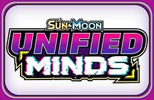 50x Sun & Moon UNIFIED MINDS ~ Pokemon Online Booster Code Email TCGO Codes FAST
