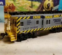 HO Athearn CSX caboose car, for train set, New RTR , Operation Life Saver