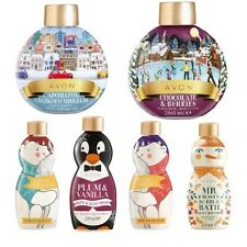 Avon Novelty bubble bath - Christmas theme