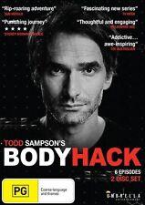 The Bodyhack - Series 1 (DVD, 2-Disc Set) Todd Sampson - BRAND NEW & SEALED