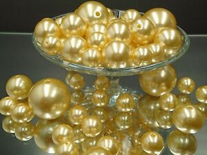 Pearl Vase Filler Plastic Faux Beads Wedding Party Table Decor Centerpieces Mix