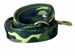 dog puppy walking lead leash camouflage camo army military green olive