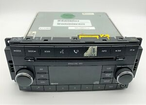 OEM 07-12 Jeep Liberty Audio Equipment Radio Receiver FM CD MP3 Satellite AUX