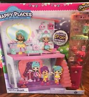 Shopkins Happy Places Happyville High School Prom Extension Playset 3190M