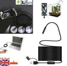 5.5mm Endoscopio Boroscopio LED USB tipo C Cámara De Inspección teléfono Android IP67 Reino Unido