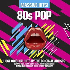 VARIOUS - MASSIVE HITS! 80'S POP: 3CD SET (2012)