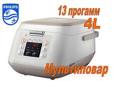 NEW Multivarka PHILIPS HD4726 Multicooker 4L 13 programs Мультиварка RU