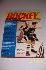 1972 HOCKEY Guide BOSTON Bruins BOBBY ORR Bobby CLARKE Ken DRYDEN Ed GIACOMIN