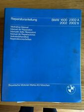 Genuine BMW 2002 Workshop Manual
