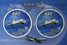 Timbres Avions Concorde Corée BF544 ** année 2008 lot 25036 - cote : 28 €