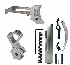 1911 Colt Trigger Upgrade Group Kit - SK Hammer, Silver 3 Hole Trigger