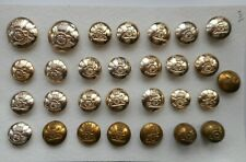 British Army Royal Artillery Buttons (3)