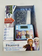 Frozen 2 Digital Alarm Clock with Night Light, Alarm Clocks for Kids...