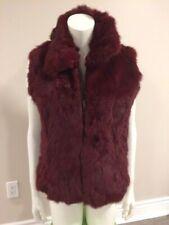 Amazing Coat Sale - Saks Fifth Avenue Rabbit Fur Vest- Side L - New