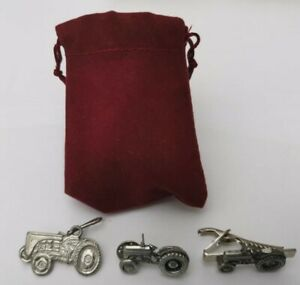 Fergie Tractor Pewter Badge, Tie Pin, Phone Fob