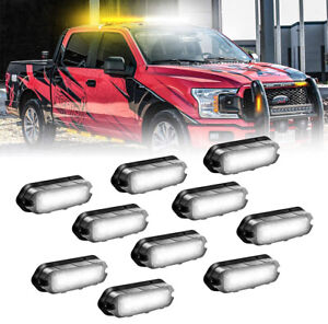 Official Feniex T3 (V3) LED Perimeter Grille Surface Mounts (10 Pack)