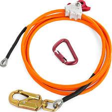 Steel Core Lanyard Kit Flipline 12 X 10 Climbing 75222 Swivel Snap Flip Line