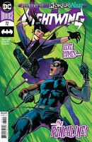 DC Comics Nightwing 72 CVR A  - 1st Print (July 2020) Joker War Tie in Punchline