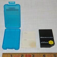 64MB Nyko Memory Card for Nintendo GameCube in Original Case