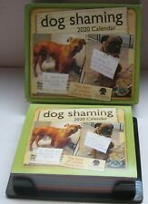Dog Shaming Calendar 2020 Funny Comical Day to Day 365 Pages Andrews McMceel New