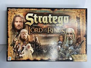Stratego The Lord Of The Rings Trilogy Edition Milton Bradley - Open Box New