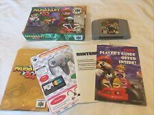Mario Kart 64 (Nintendo 64, N64, 1997) Complete in Box CIB  Authentic
