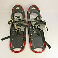 """Atlas Snow-Shoe Company Model 825 Pair of Snowshoes Red 25"""" Length"""