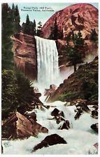 Vernal Falls (350 Feet) Yosemite Valley CA Vintage Postcard 1914  No. Y 123