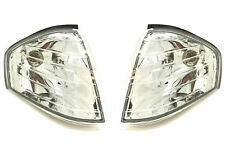 Front Indicators Detector Clear Chrome Crystal-Look Pair For Mercedes R129 Sl