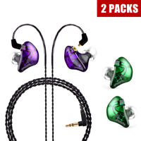 BASN Audio New Hybird In Ear Monitors Dual Drivers Headphone Deep Bass Earphones