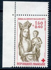 STAMP / TIMBRE FRANCE NEUF N° 2295a ** VIERGE A L'ENFANT/ ISSUS DE CARNET