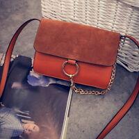 Women Ladies Handbag Shoulder Bag Leather Messenger Bag Satchel Purse Tote S