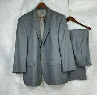 Lauren Ralph Lauren mens y Glen Check wool suit w pleated cuffed pants  46R 48R