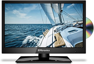 """EMtronics 19"""" Inch HD Ready LED TV with Freeview HD and Built in DVD Player"""