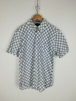 TOMMY HILFIGER Camicia Maniche Corte Shirt Maglia Chemise Camisa Hemd Tg L Uomo