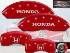 """2011-2017"""" Honda"""" Odyssey Delantero + Posterior Rojo MGP Disco Freno Pinza"""