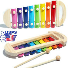Baby Musical Toys Xylophone Wisdom Development Wooden Instrument Gift for Kids