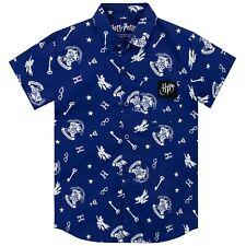 Harry Potter Shirt   Boys Hogwarts Button-Down Top   Kids Collared Shirt