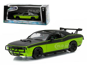 LETTY'S 2014 DODGE CHALLENGER SRT8 FAST AND FURIOUS (2014) 1/43 GREENLIGHT 86230