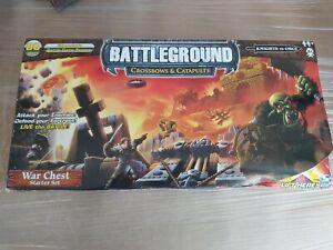 Crossbows & Catapults - Battleground -- War Chest Starter Set KNIGHTS & ORCS