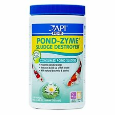API POND-ZYME SLUDGE DESTROYER Pond Water Cleaner With Barley (16 ounces)