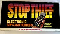 STOP THIEF Board Game 1979 Electronic COPS And ROBBERS GAME Parker Brothers