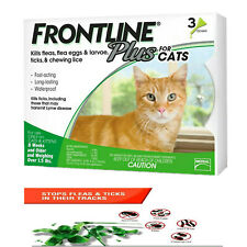 Frontline Plus for Cats Kittens 1.5 pounds and over Flea Tick Treatment 3-Doses