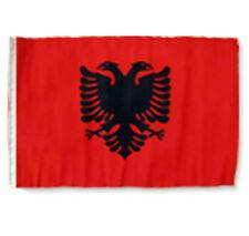 """12x18 12""""x18"""" Albania Albanian Sleeve Flag Boat Car Garden"""