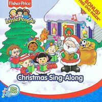 Christmas Sing Along [CD/DVD] [Fisher Price] by Various Artists (CD,...
