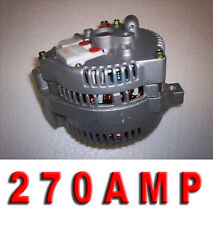 Ford Mustang Bronco Pick up High Amp One Wire 3G Large Case Alternator Generator