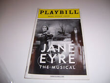 2001 BROOKS ATKINSON THEATRE PLAYBILL - JANE EYRE - MARLA SCHAFFEL JAMES BARBOUR